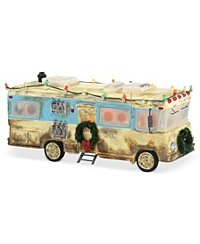 Snow Village National Lampoon's Christmas Vacation Cousin Eddie's RV Collectible Figurine