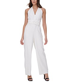 O-Ring Overlay Jumpsuit