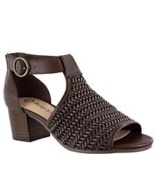 Ripley II Women's Woven Block Heel Sandals