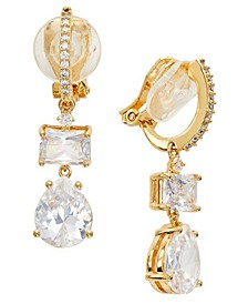 Crystal Drop Clip-On Earrings, Created for Macy's