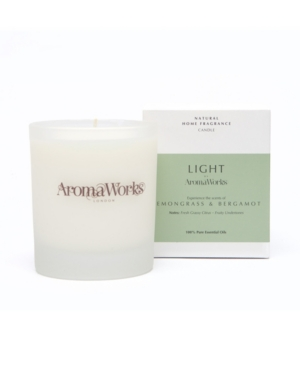 Light Range Lemongrass and Bergamot Candle
