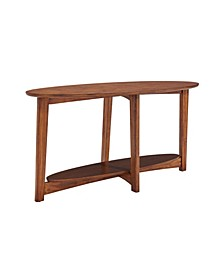 Monterey Console Media Mid-Century Modern Wood Table