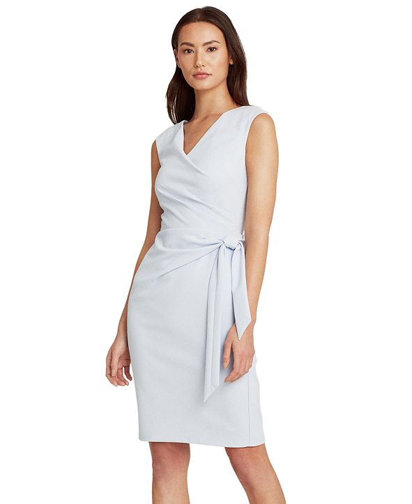 Lauren Ralph Lauren Petite Jersey Cap-Sleeve Dress