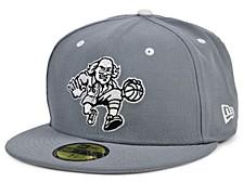 Philadelphia 76ers Storm Black White Logo 59FIFTY Cap