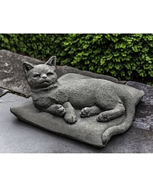 Lazy Afternoon Garden Statue