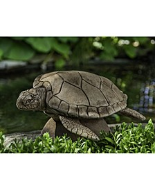 Large Sea Turtle Statuary