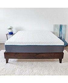 "12"" 4-Layer Gel-Infused Memory Foam Firm Mattress - King"