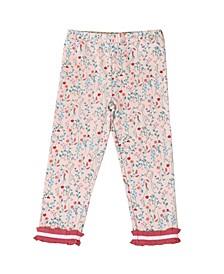 Toddler Girls Floral Legging