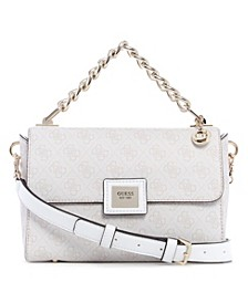 Candace Top Handle Flap Bag