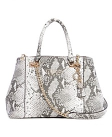 Holly Embossed Status Carryall