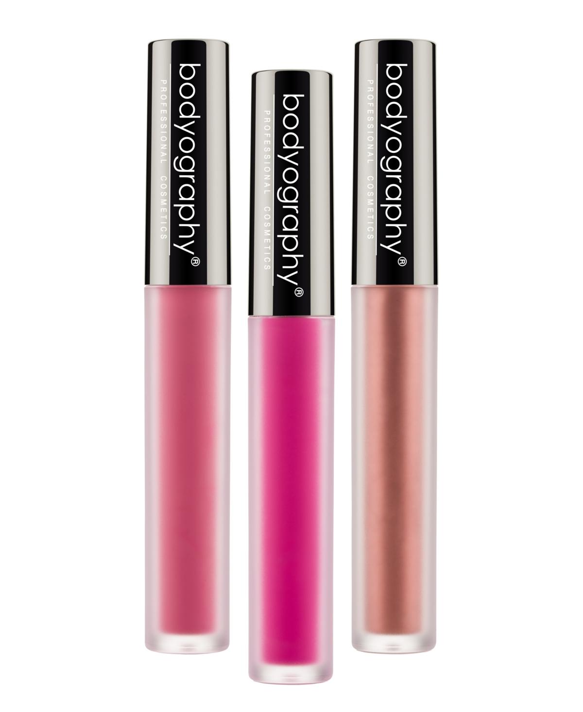Bodyography Lip Lava Liquid Lipstick Trio
