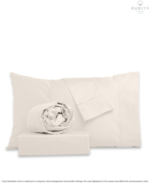Purity Home 1000 Thread Count Egyptian Cotton Sheets Set, Full Bedding