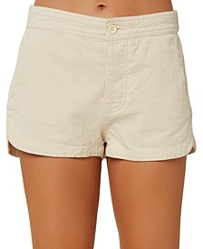 Juniors' Bismark Dophin-Hem Shorts