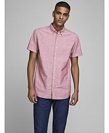 Men's Classic Linen Short Sleeve Shirt