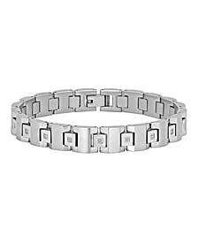 Men's Square Link Bracelet