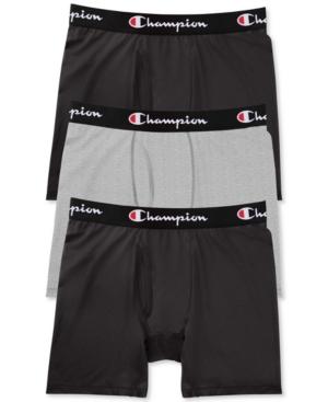 Champion Men's 3-Pk. Everyday Stretch Boxer Briefs
