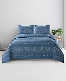 Hadley Zarine King 3PC Quilt Set