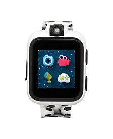PlayZoom White Smartwatch for Kids Soccer Print 42mm