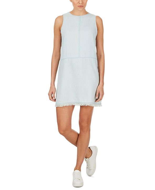 Adyson Parker Chambray Shift Dress