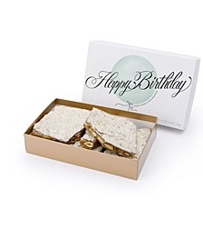 Happy Birthday Milk Traditional Almond Toffee, 1 lb