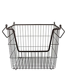 Metal Basket Rectangle Large