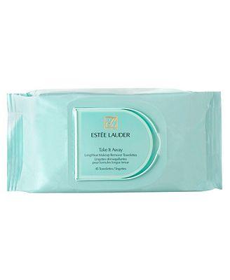 Estée Lauder Take it Away LongWear Makeup Remover Towelettes, 45 pack