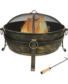 """Cauldron Outdoor Fire Pit - 34"""""""