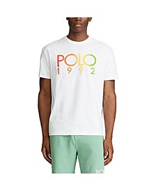 폴로 랄프로렌 Polo Ralph Lauren Mens Classic Fit Logo T-shirt,White