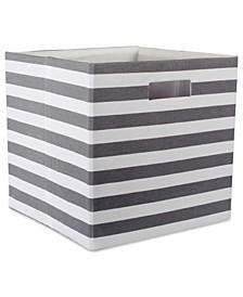 Polyester Cube Stripe Square