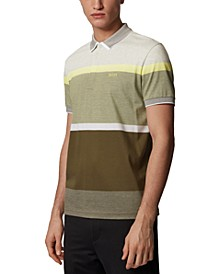 BOSS Men's Paddy 4 Dark Green Polo Shirt