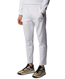 BOSS Men's Halboa Circle Open White Pants