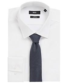 BOSS Men's Dark Blue T-Tie