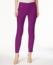 Petite Tummy-Control Pull-On Skinny Pants, Petite & Petite Short, Created for Macy's