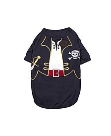 Captain Sparrow Dog T-shirt