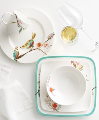 Lenox Simply Fine Chirp Collection  sc 1 st  Macy\u0027s & Lenox Simply Fine Chirp Collection - Dinnerware - Dining ...