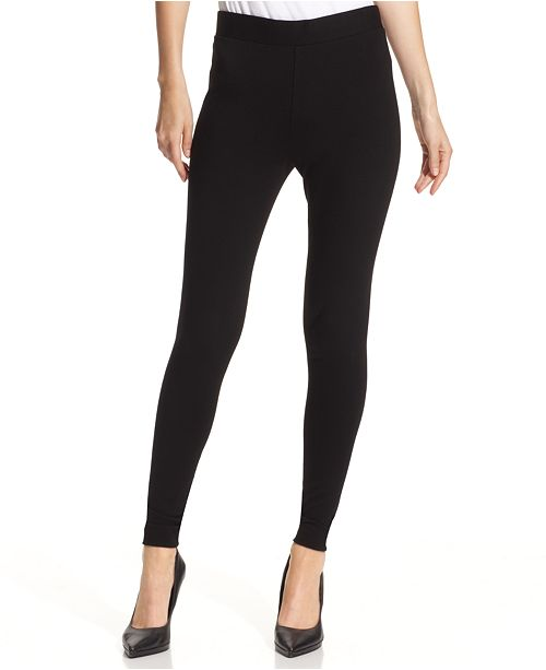 Ponte Leggings Black Vince Knit Camuto 0qU4A4