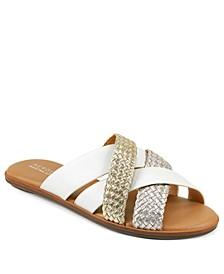 Martha Stewart Sandra Slip On Sandals