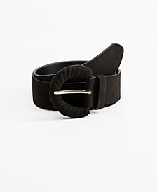 Suede Effect Belt