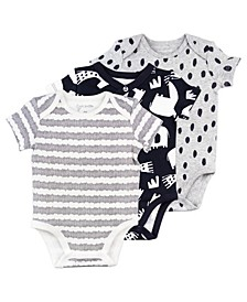 Baby Boys & Girls 3-Pack Bodysuits