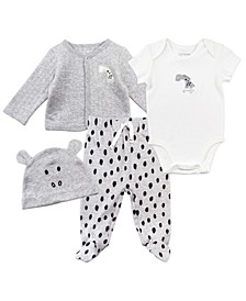 Baby Boys & Girls 4-Piece Set