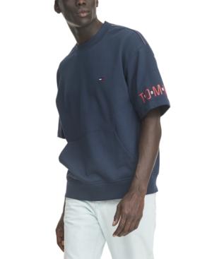Tommy Hilfiger Denim Men's Donnie Logo Short Sleeve Sweatshirt
