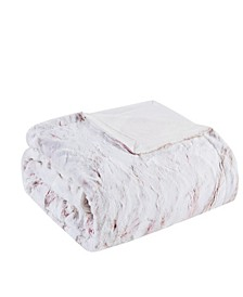 "Sachi 60"" x 70"" Oversized Faux Fur Throw"
