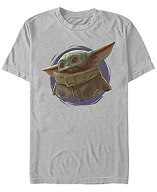 Fifth Sun The Mandalorian The Child Purple Smoke Short Sleeve Men's T-shirt