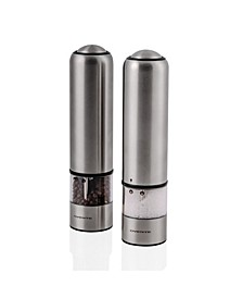 Professional 2 Piece Electric Salt and Pepper Grinder Set