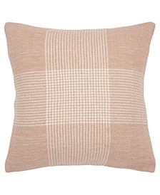 "Plaid Decorative Pillow Cover, 20"" x 20"""