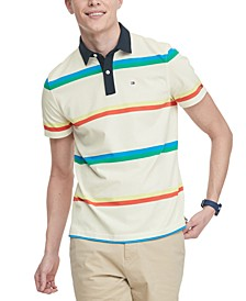 Men's Nicholas Custom-Fit TH Cool Striped Polo Shirt