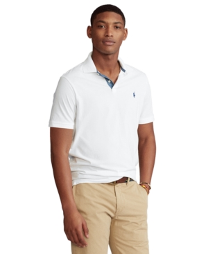 Polo Ralph Lauren Men's Big & Tall Classic-Fit Jersey Polo Shirt