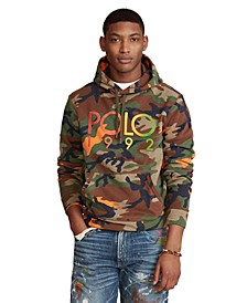 Men's Big & Tall Logo Camo Fleece Hoodie
