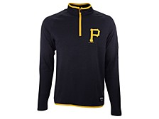 Men's Pittsburgh Pirates Brushback Quarter Zip Pullover