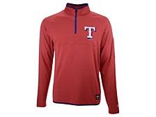 Men's Texas Rangers Brushback Quarter Zip Pullover